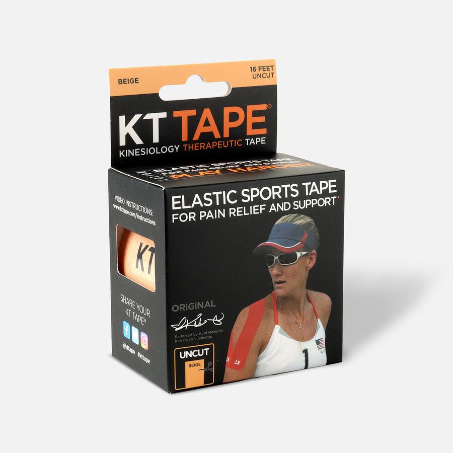KT Tape Original Cotton Uncut 16 ft roll, Beige, , large image number 2
