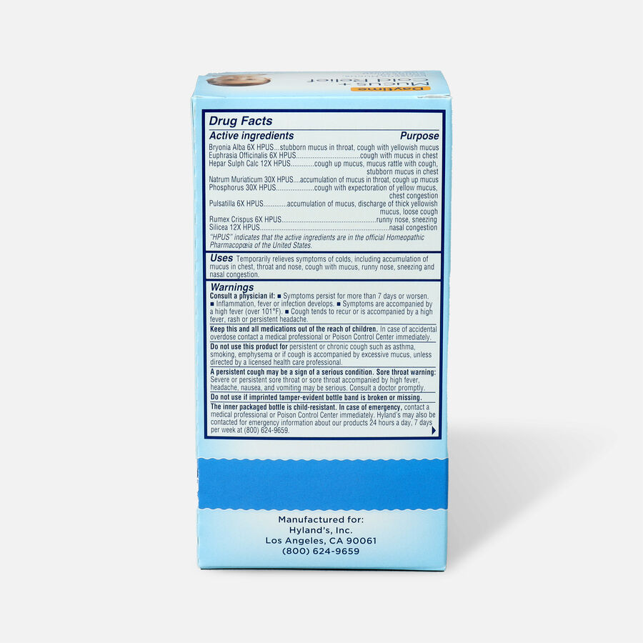 Hyland's Baby Mucus and Cold Relief, 4 oz, , large image number 1