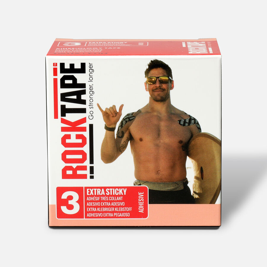 RockTape H2O Extra Sticky Roll, Beige, 2 in x 16.4 ft, , large image number 0