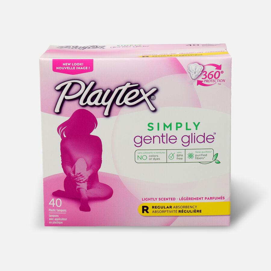 Playtex Gentle Glide Deodorant Regular Tampons, , large image number 2