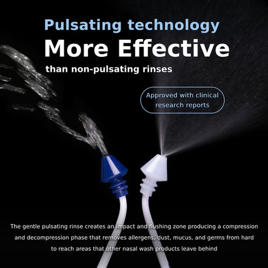 SinuPulse Elite, Advanced Nasal Sinus Irrigation System, Model SP100, , large image number 3