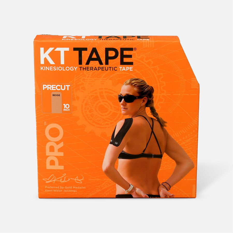 KT Tape Pro Jumbo Precut Tape, Beige, 150 Strips, Beige, large image number 0