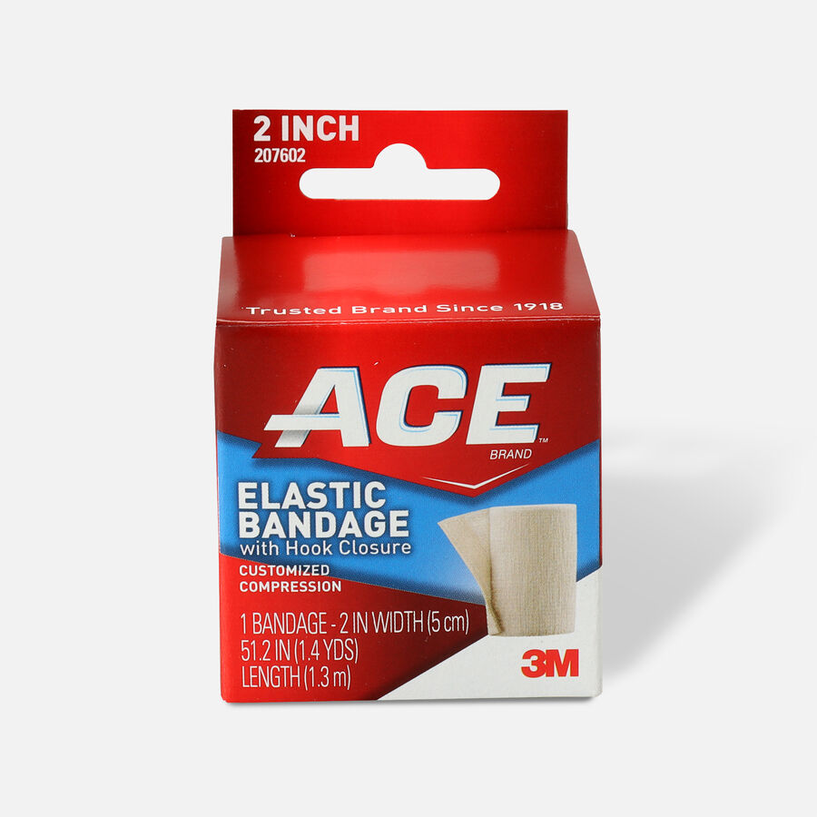 ACE Elastic Bandage with Hook Closure, , large image number 0