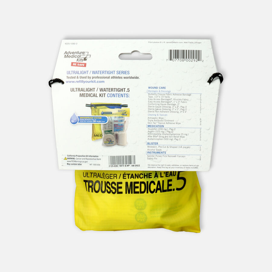 Adventure Medical First Aid Kit Ultralight / Watertight .5, , large image number 1