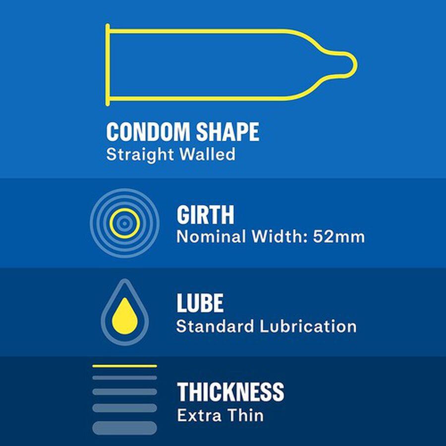 Durex Invisible Condom Bundle Pack, 32 ct, , large image number 3