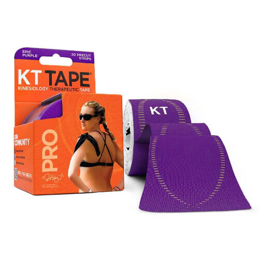 KT TAPE PRO, Pre-cut, 20 Strip, Synthetic, , large image number 2
