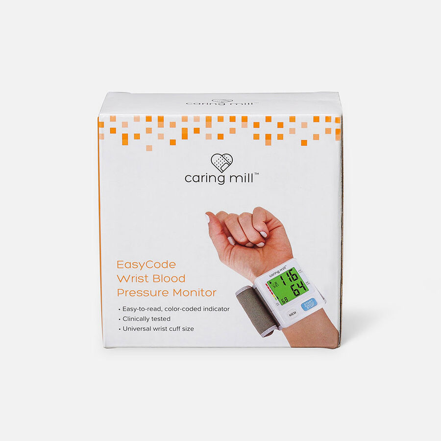Caring Mill® EasyCode Wrist Blood Pressure Monitor, , large image number 0