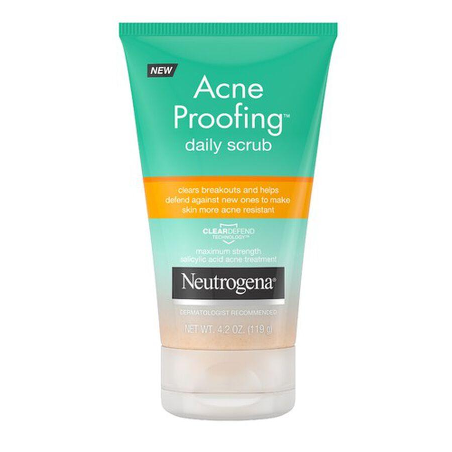 Neutrogena Acne Proofing Daily Scrub, 4.2oz, , large image number 0