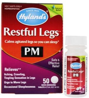 Hyland's Restful Legs PM, 50 ct