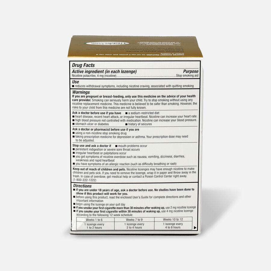GoodSense® Nicotine Polacrilex Lozenges, 4 mg (nicotine), Mint Flavor,72 ct, , large image number 1