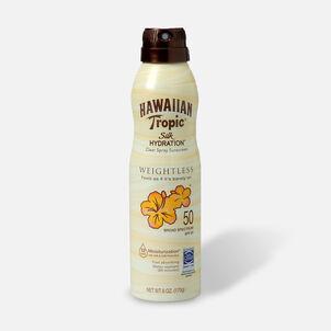 Hawaiian Tropic Silk Hydration Weightless Sunscreen Spray SPF 50, 6oz.