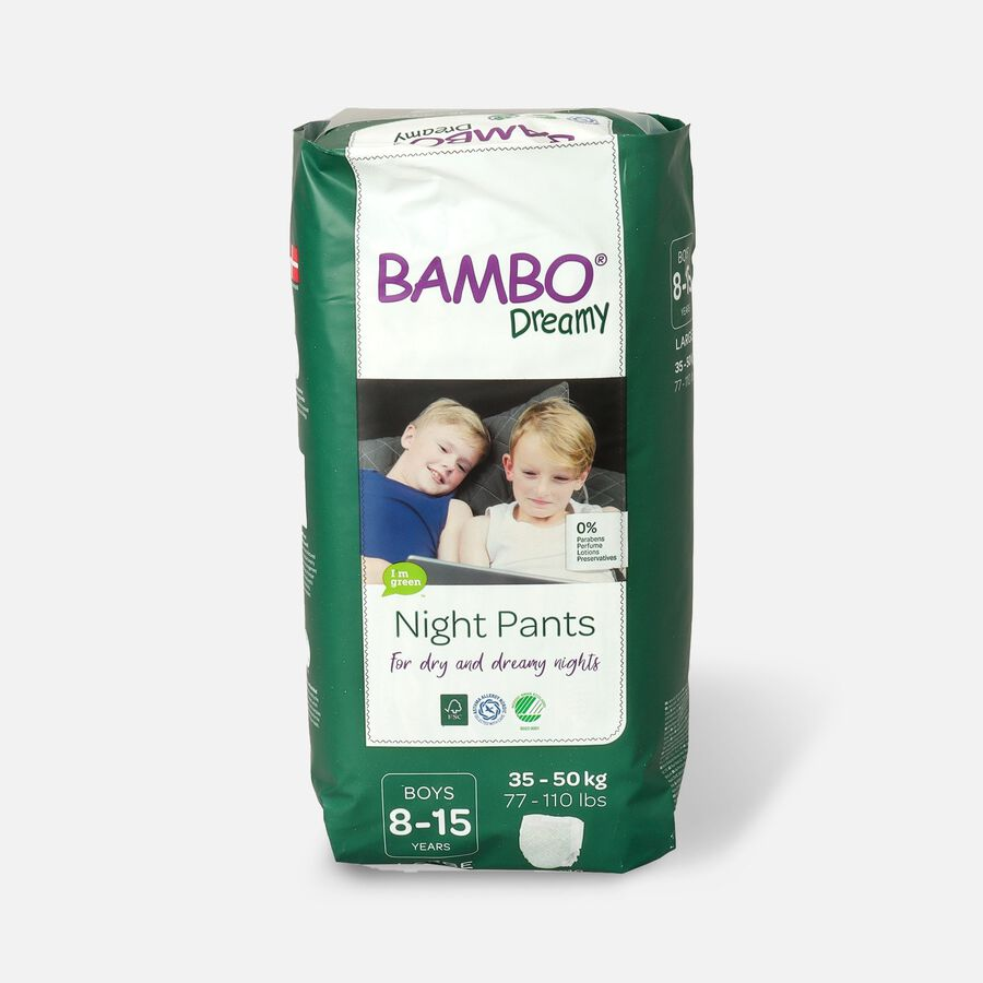 Bambo Dreamy Night Pants, Boys, 4-7 Years, 10ct, , large image number 1
