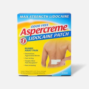 Aspercreme with 4% Lidocaine Patch, 5 ct.