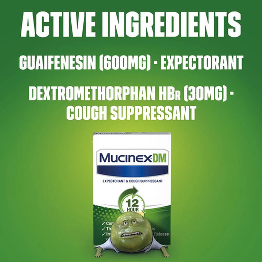 Mucinex Extended Release Bi-Layer Tablets, 20 ct, , large image number 5