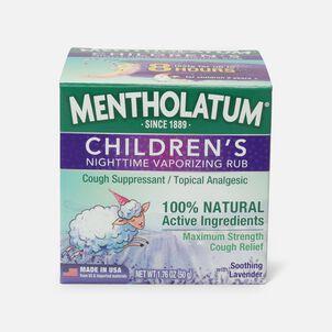 Mentholatum Children's Vaporizing Rub, Soothing Lavender Essence, 3 oz