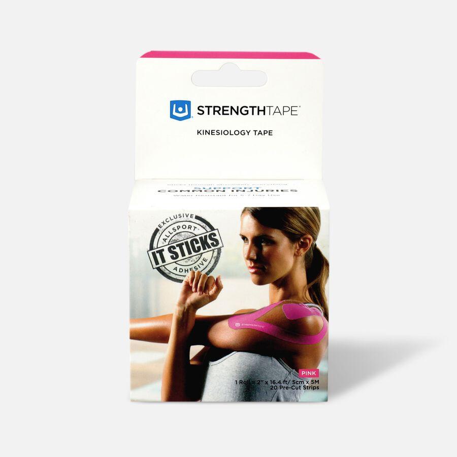 StrengthTape Kinesiology Precut Tape, 20 ct, , large image number 0