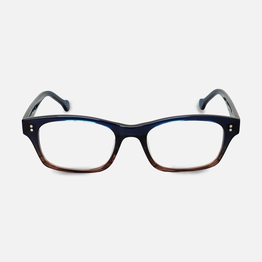 eyeOs Mason Blue Premium Reading Glasses, , large image number 0