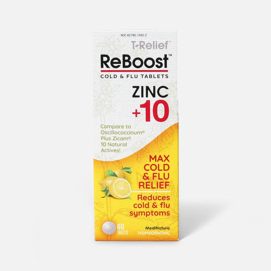 ReBoost Zinc +10 Cold & Flu Tablets, Lemon, , large image number 1