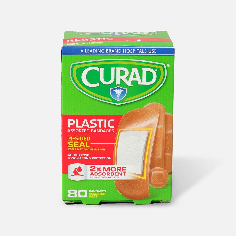 Curad Assorted Plastic Bandages, 80 ea, , large image number 0