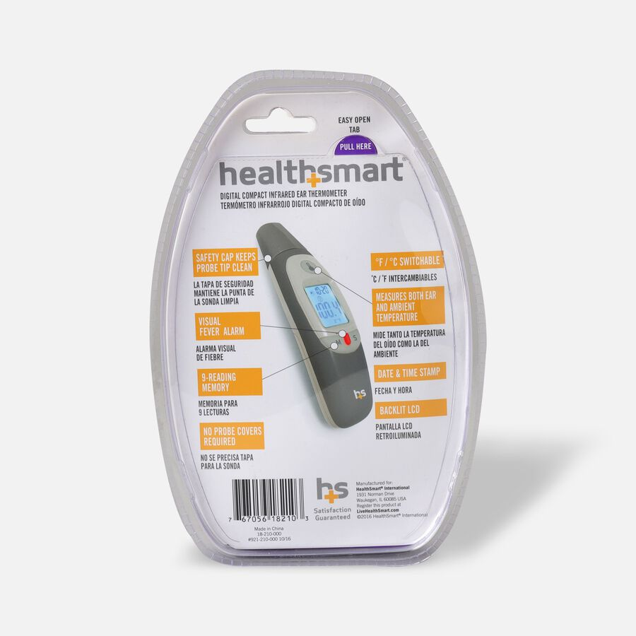 Health Smart Compact Ear Digital Thermometer, , large image number 1