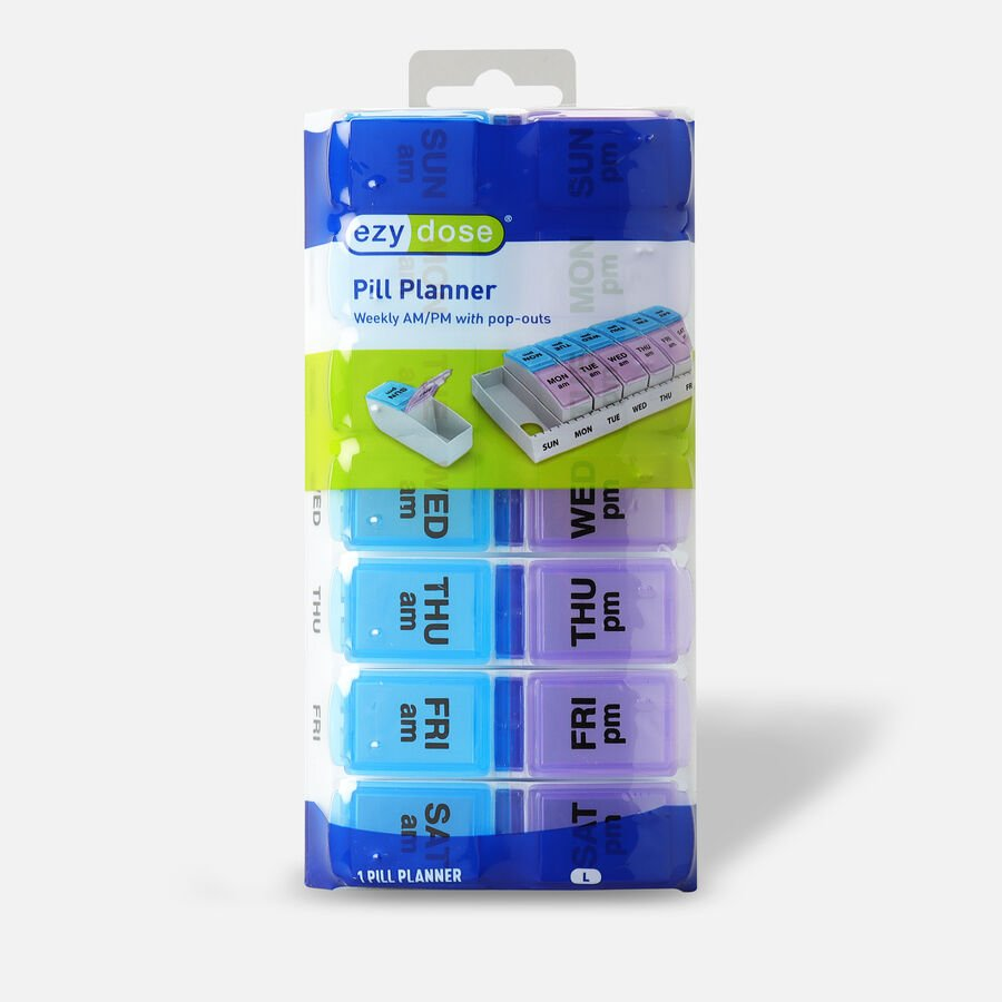 EZY Dose Weekly/AM-PM Pill Planner, , large image number 0
