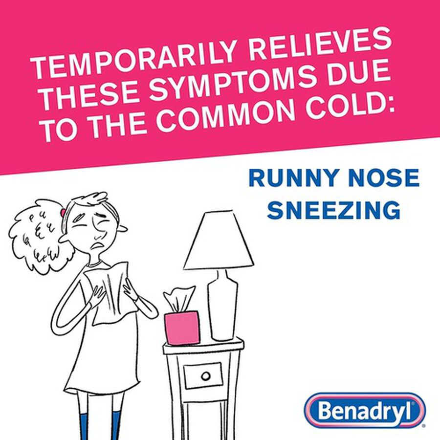 Benadryl Ultra Allergy Relief Tablets, 48 ct, , large image number 6