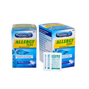 PhysiciansCare Allergy Plus, Two boxes 50x2 tablets (shrink wrap)