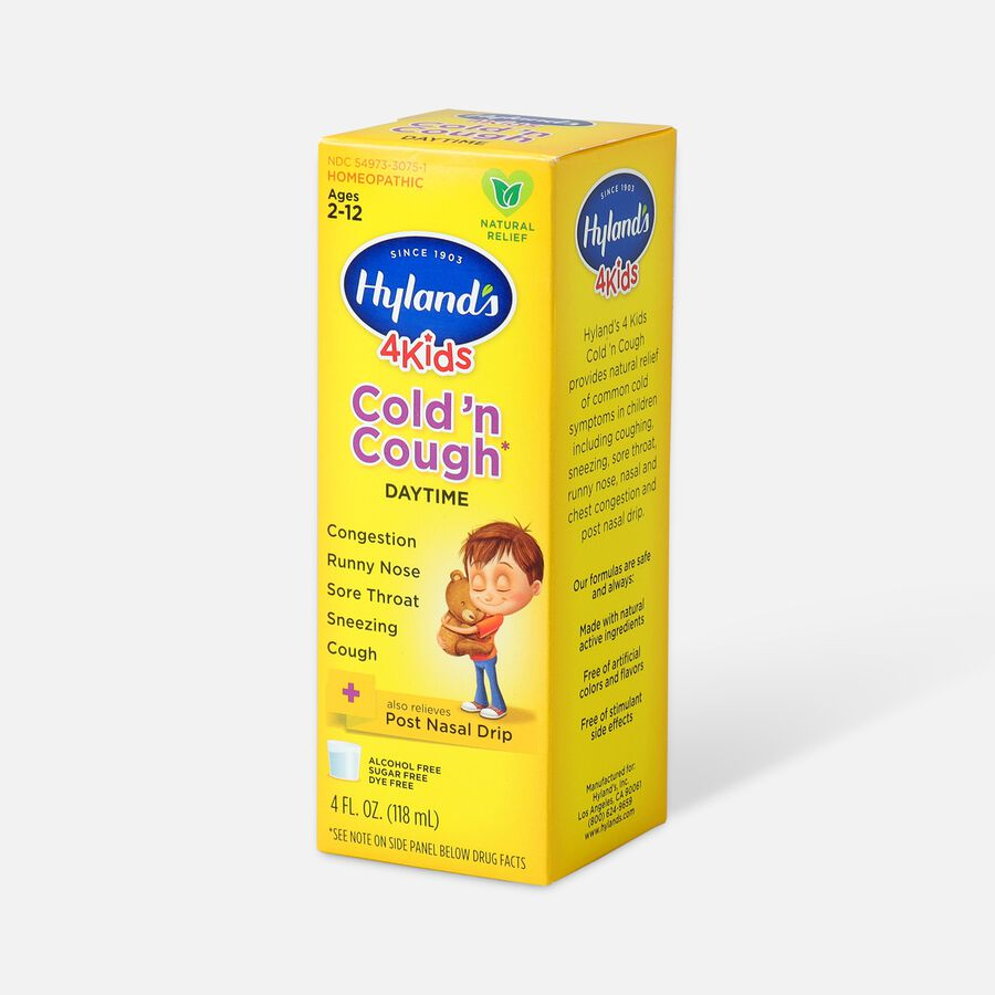 Hyland's 4 Kids Cold and Cough, 4 oz, , large image number 4
