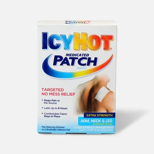 Icy Hot Extra Arms Neck Leg Patch, 5 ea