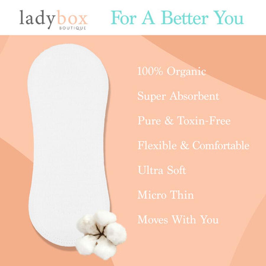 LadyBox Boutique Daytime Pads, , large image number 1