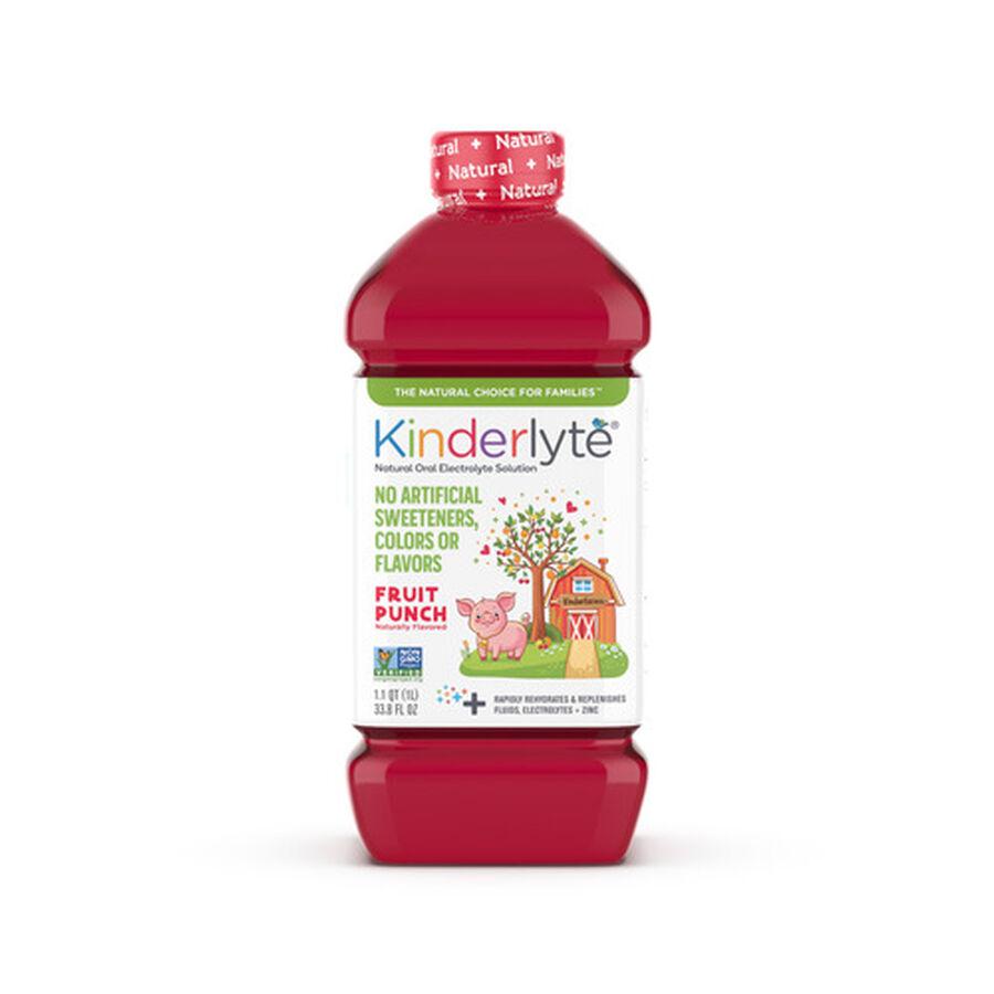 Kinderlyte Natural Oral Electrolyte Solution, Liquid, 33.8 fl. oz., , large image number 0