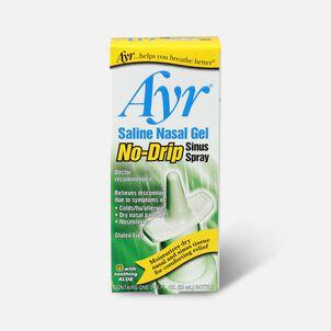 Ayr Saline Nasal Gel, No-Drip Sinus Spray, .75 fl oz