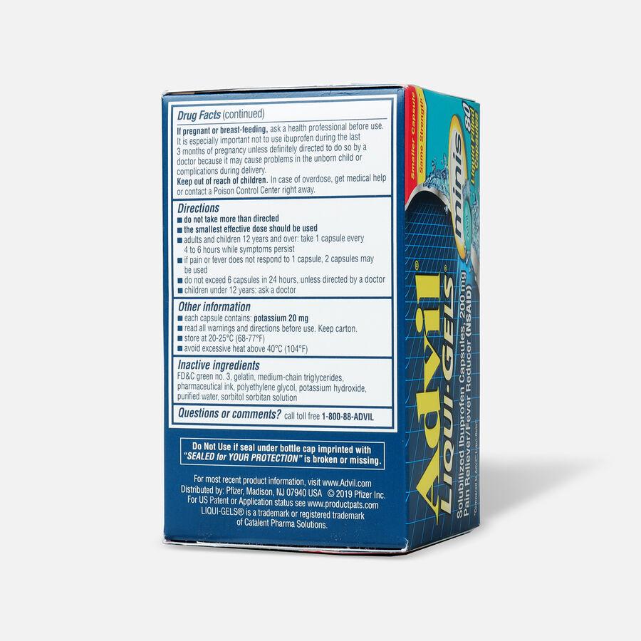 Advil Pain Reliever Fever Reducer Mini Liquid Gels, 80 ct, , large image number 3