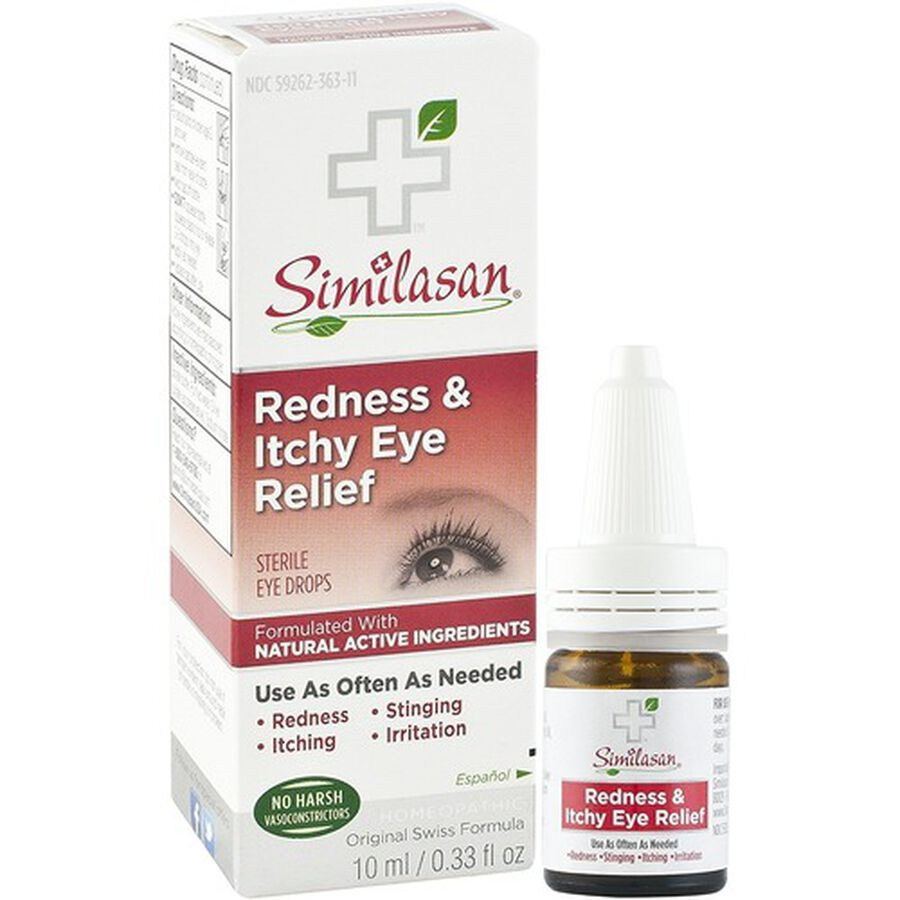 Similasan Redness & Itchy Eye Relief, 0.33 fl. oz., , large image number 5