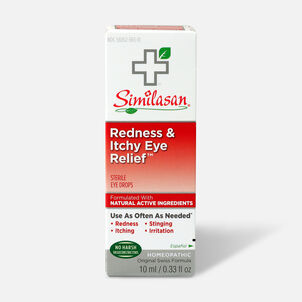 Similasan Redness & Itchy Eye Relief, 0.33 fl. oz.