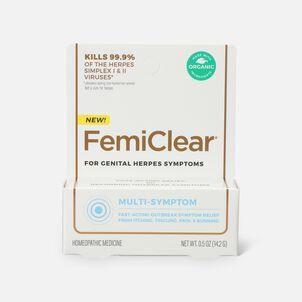 FemiClear Genital Herpes Ointment, Multi-Symptom, 0.5 oz