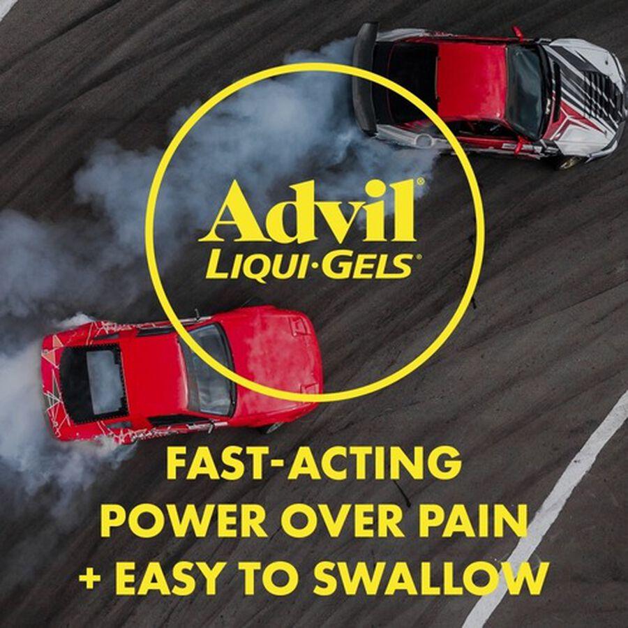 Advil Pain Reliever Fever Reducer Mini Liquid Gels, 80 ct, , large image number 7