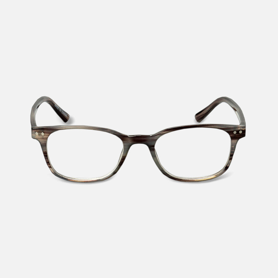 Caring Mill™ Reading Glasses, Gray Tortoise, , large image number 2