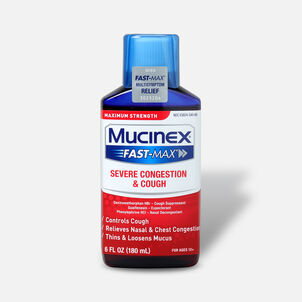 Mucinex Fast-Max Adult Liquid Severe Congestion and Cough 6 oz
