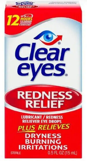 Clear Eyes Red Relief Drops, .5 oz