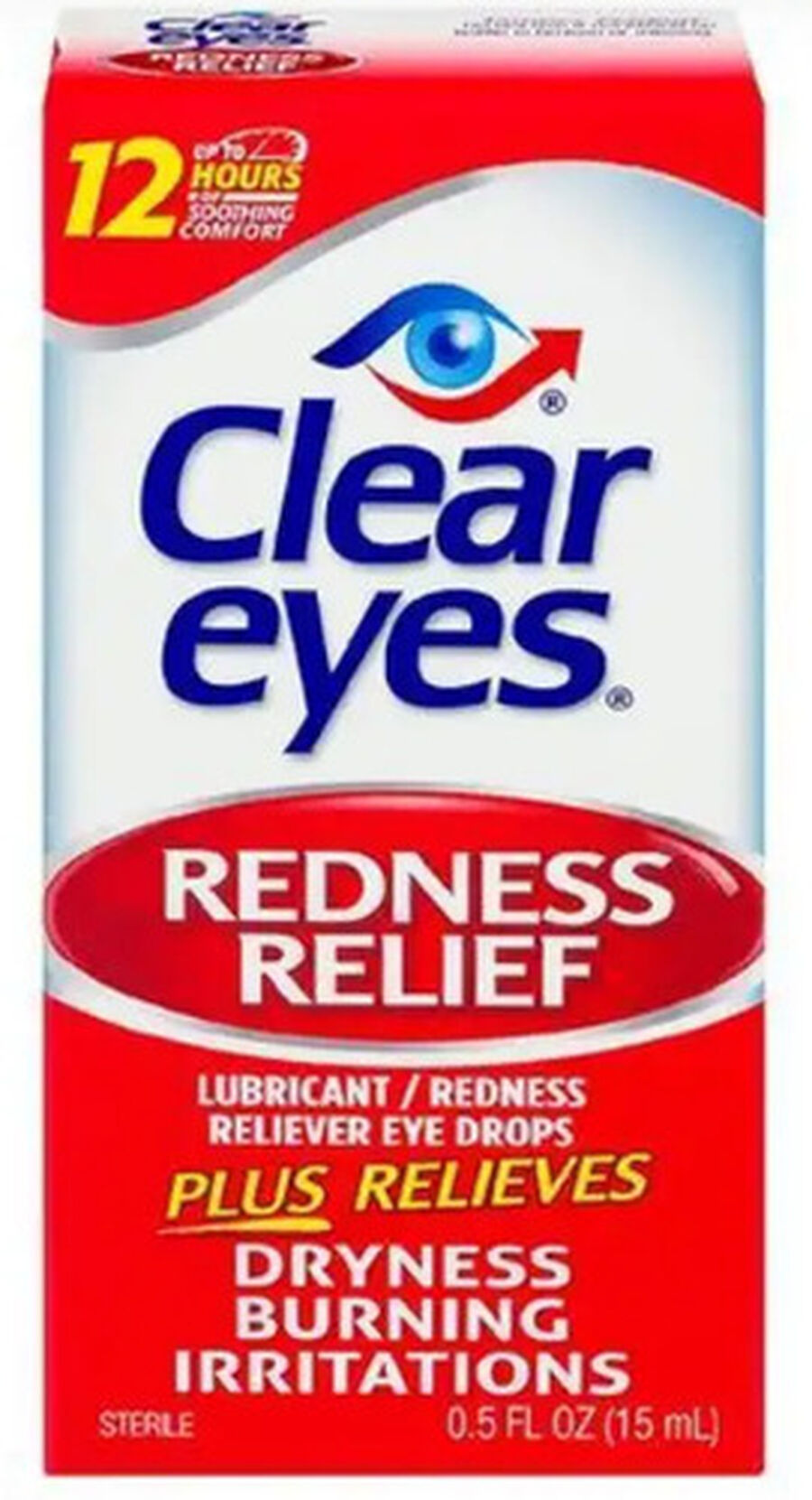 Clear Eyes Red Relief Drops, .5 oz, , large image number 0