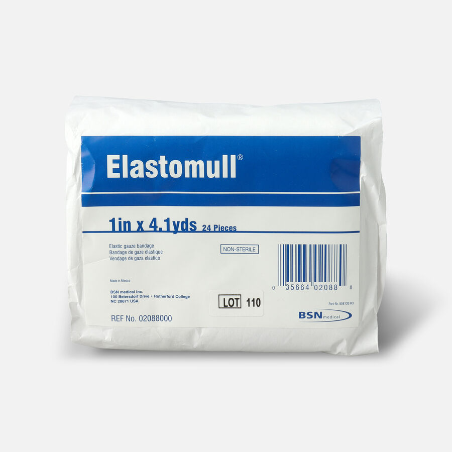 "Elastomull Cotton Conforming Bandage, NonSterile, White, 1"" x 4.1 yds - 24ct, , large image number 0"