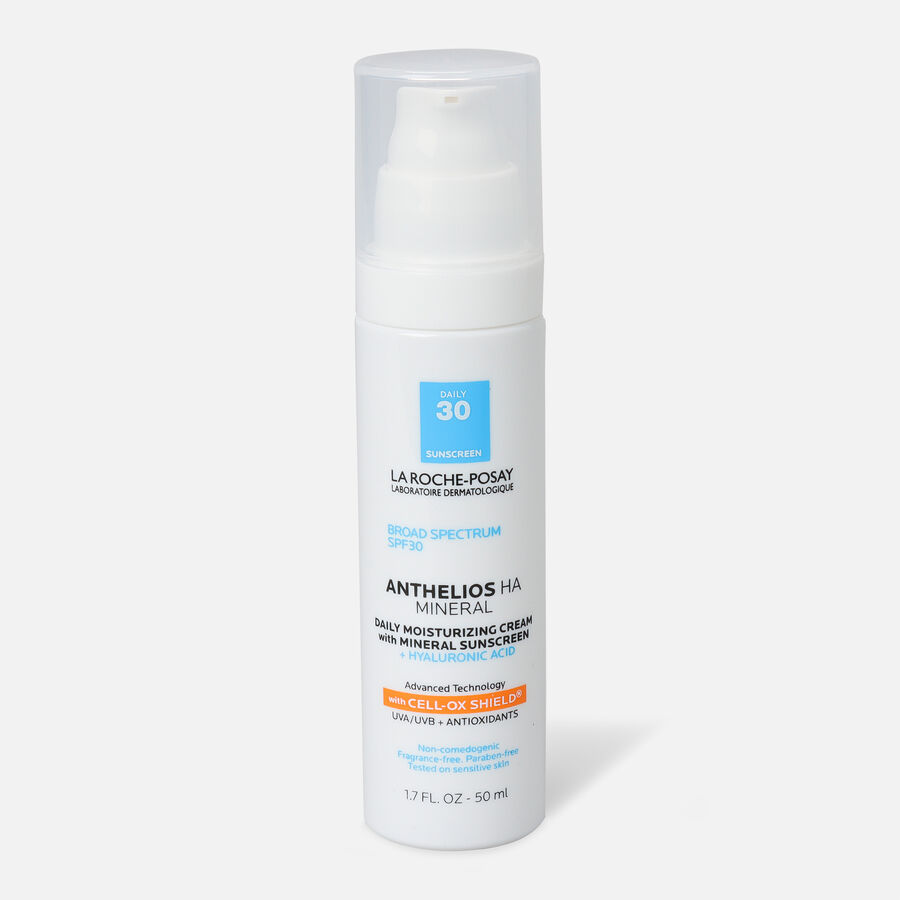 La Roche Posay Anthelios HA Mineral Sunscreen Moisturizer, SPF 30, 1.7 oz, , large image number 0