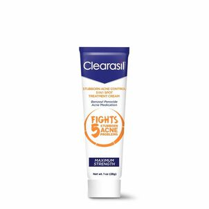Clearasil Stubborn Acne Control 5in1 Spot Treatment Cream, 1oz.