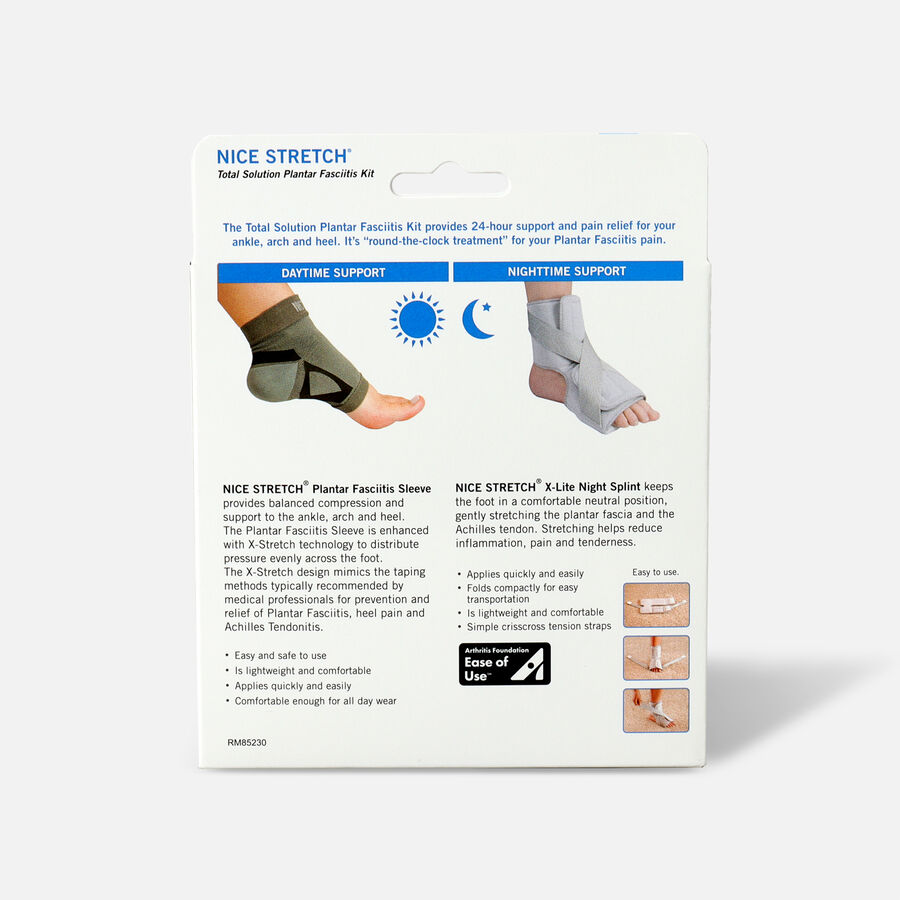 Nice Stretch Total Solution Plantar Fasciitis Relief Kit S/M, , large image number 1