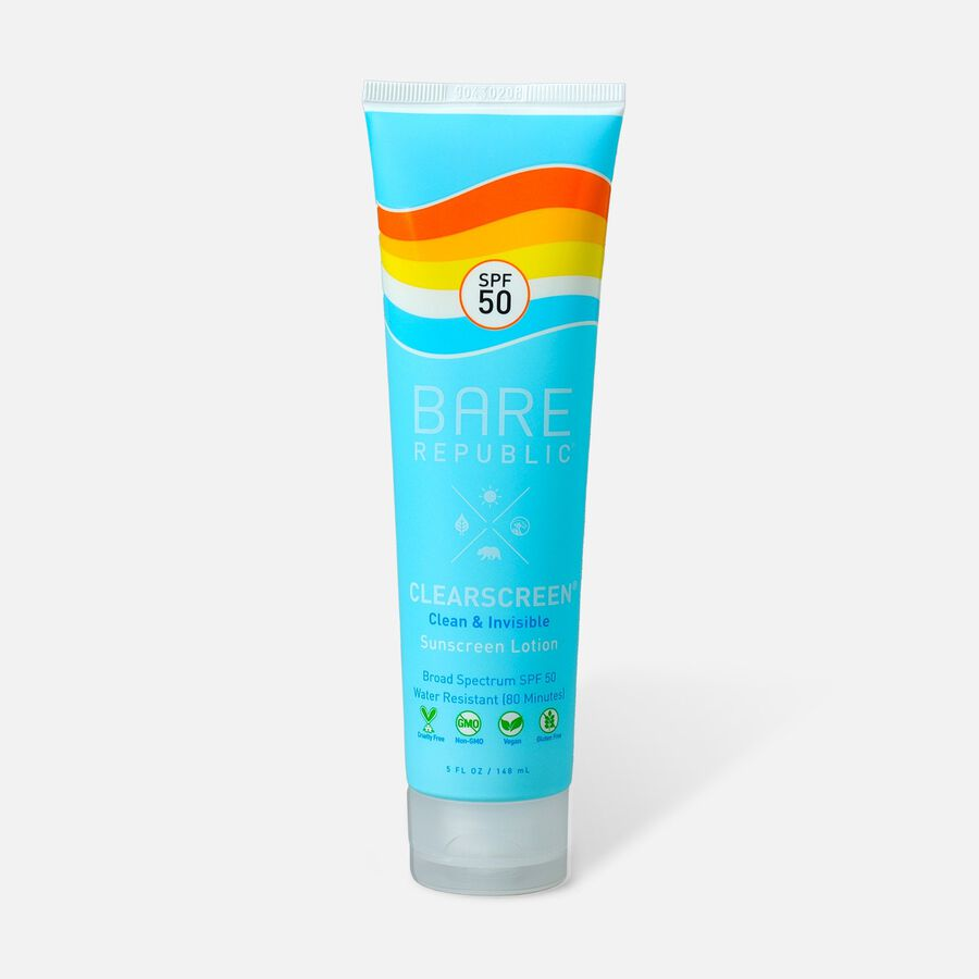 Bare Republic Clearscreen Sunscreen Body Lotion, 5oz, , large image number 1