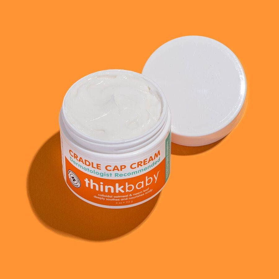 Thinkbaby Cradle Cap Cream, 4 oz, , large image number 3