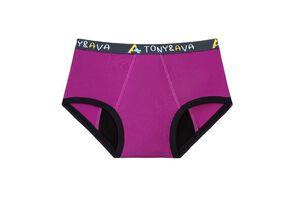 Tony and Ava Incontinence Underwear, Highly Absorbent, Machine Washable, Snug Bikini Girls