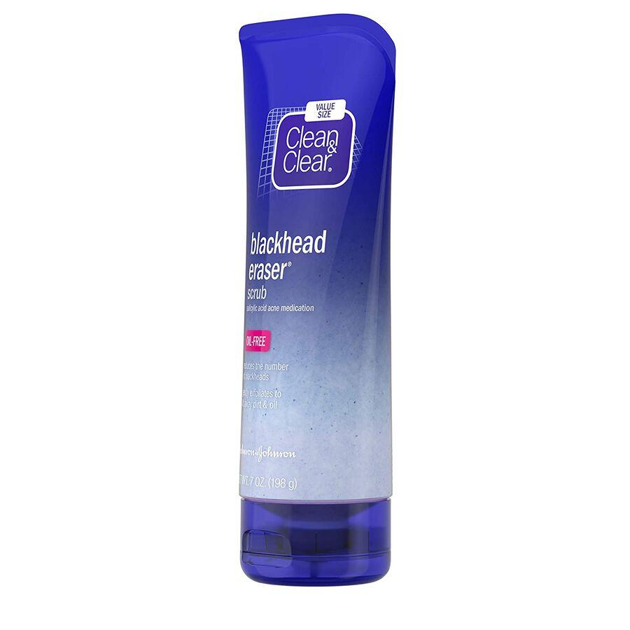 Clean & Clear Blackhead Eraser Scrub Oil Free, 7 oz, , large image number 2