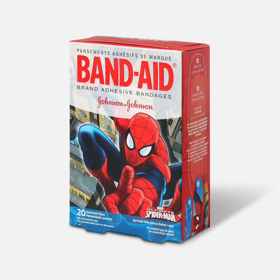 Band-Aid Adhesive Bandages, Spiderman, Assorted Sizes, 20 ct., , large image number 2